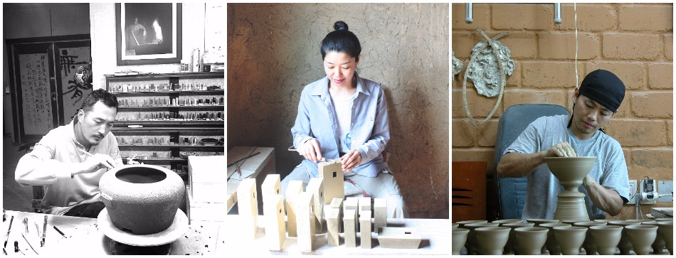 korean-potters-tri-panel
